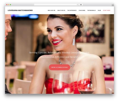 Digital Pro template WordPress - louisianamatchmaker.com