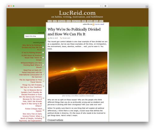Disciple top WordPress theme - lucreid.com