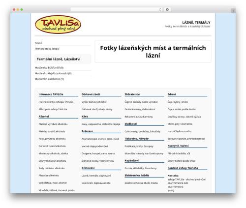 MH Corporate basic free WordPress theme - lazne-termaly.tavlisa.cz