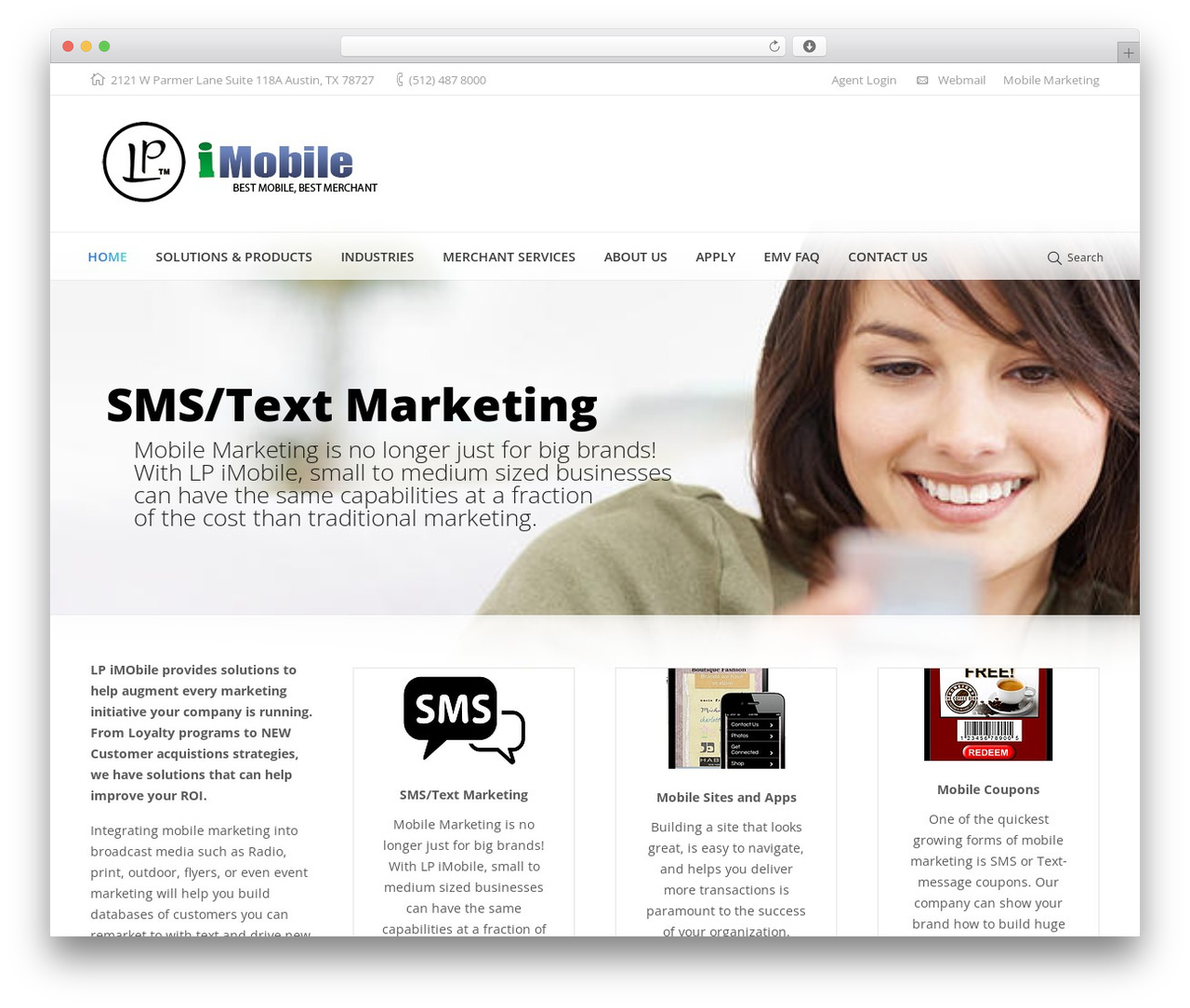 The7.2 WordPress theme design by Dream-Theme - lpimobile.com