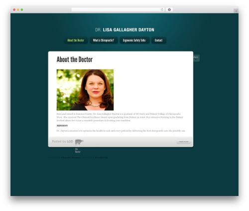 Theme WordPress LightBright - lisagallagherchiropractic.com