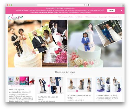 Pinnacle WordPress theme download - leelooh-creation.com