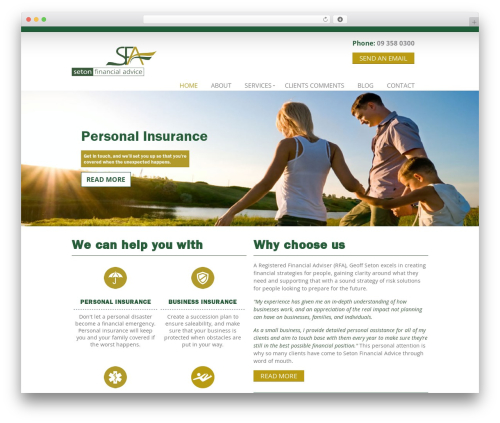 Rocco WP template - lifeinsuranceauckland.co.nz