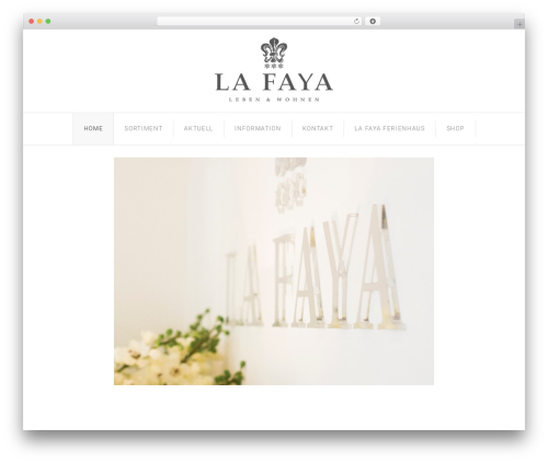 Senator top WordPress theme - lafaya.ch