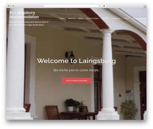 Sydney WordPress theme - laingsburgaccommodation.co.za