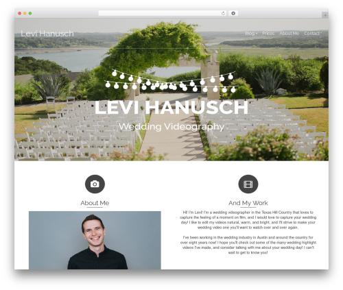 WP template Pinnacle - levihanusch.com