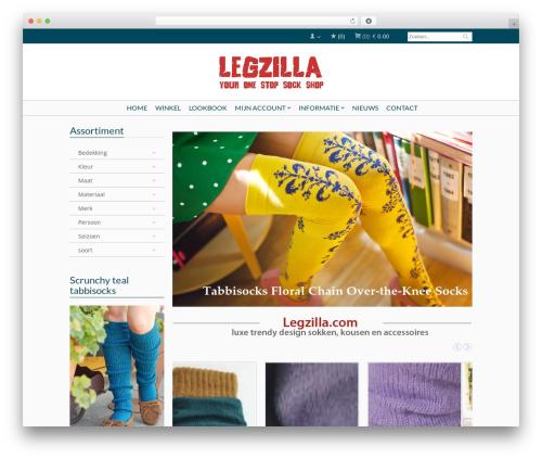Best WordPress template Bellissima - legzilla.com