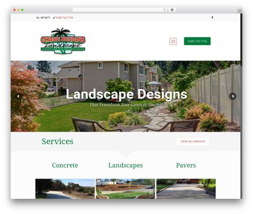 Betheme garden WordPress theme - landscaperedding.com
