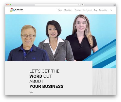 EZ Theme WordPress video template - localbusinessvideocommercial.com