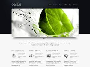 Genesis wallpapers WordPress theme