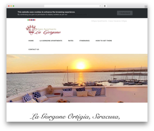 Valise WordPress theme design - lagorgoneapartments.com
