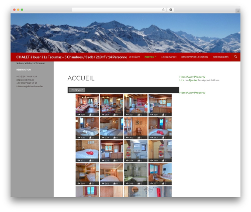 Best WordPress template Anjirai - latzoumaz.eu