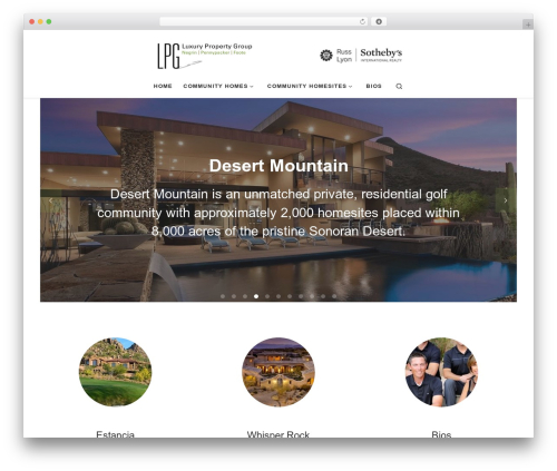 Customizr template WordPress free - lpg-3.com