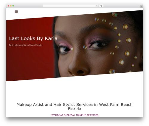 Oblique free WP theme - lastlooksbykarla.com