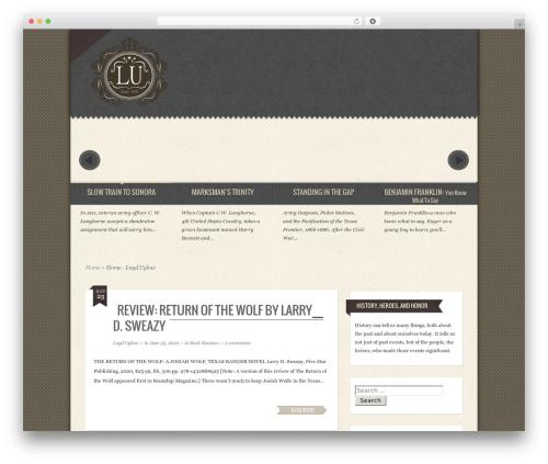 Template WordPress Special - loyduglow.com