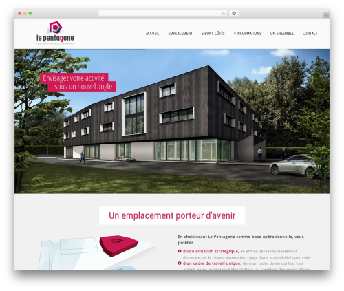 The7.2 best WordPress theme - le-pentagone.fr