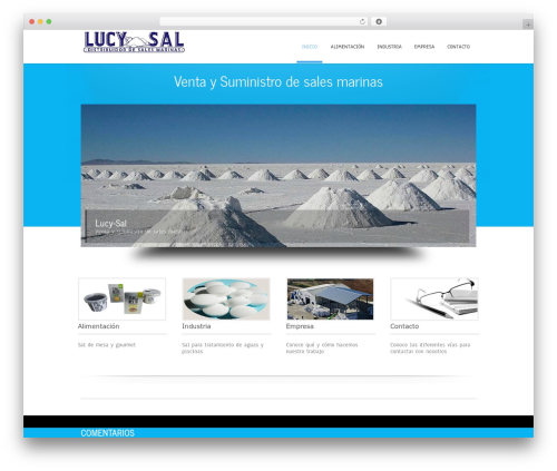 Theme WordPress Simplicity Lite - lucysal.com