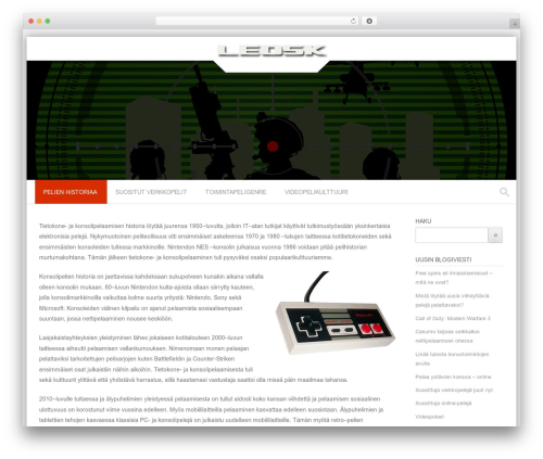 WordPress template Premier - leosk.org