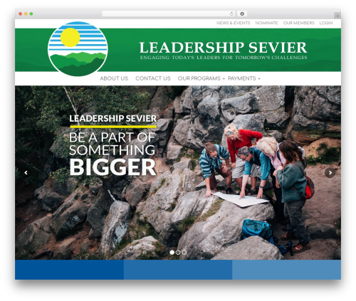 WordPress website template Divi - leadershipsevier.com