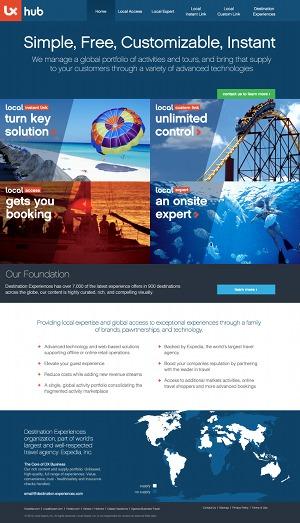 B2B Wordpress Theme WordPress theme design