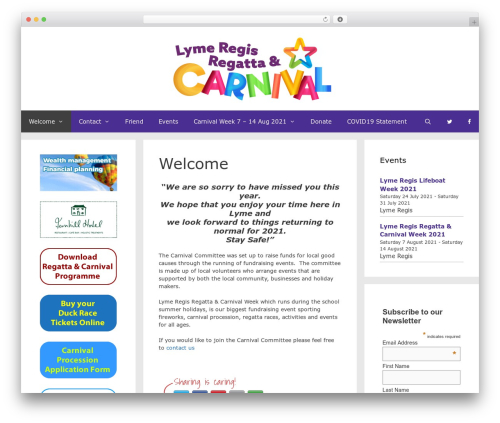 GeneratePress WordPress theme download - lymeregiscarnival.co.uk