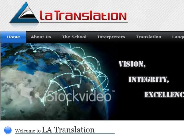 LA Translation best WordPress template