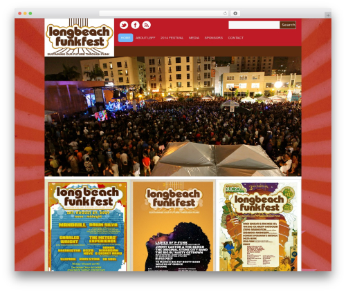 WordPress template Yasmin - lbfunkfest.com