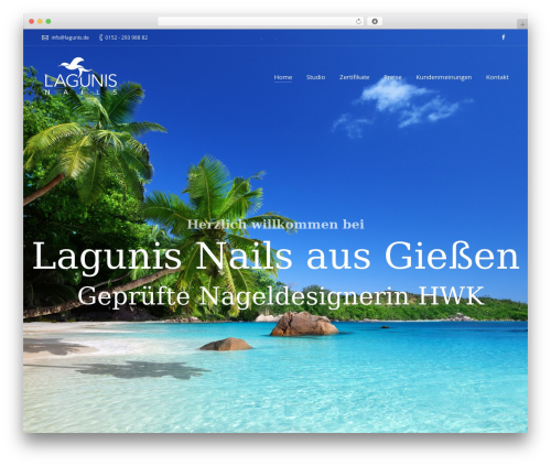 Armada WordPress theme - lagunis.de