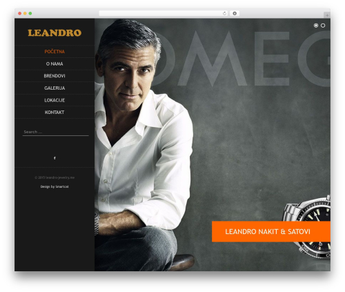 Byblos free WP theme - leandro-jewelry.me