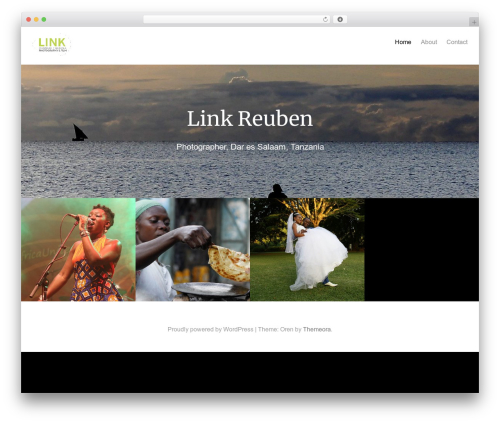 Oren WordPress theme free download - link-reuben.com