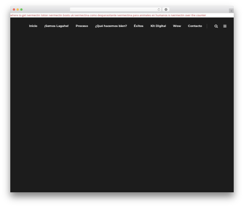 Pitch WordPress theme - lagahe.com