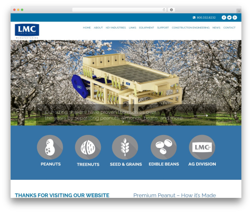 Aaika WordPress page template - lmcarter.com