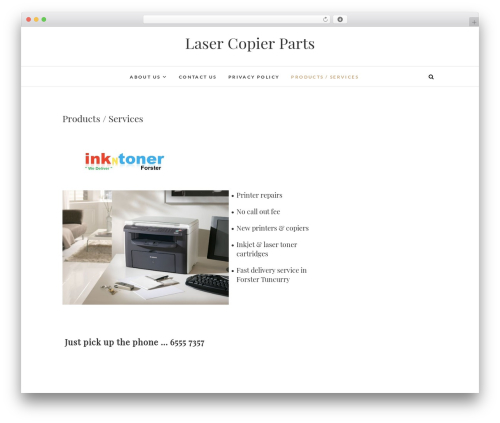 Edge template WordPress free - lasercopierparts.com