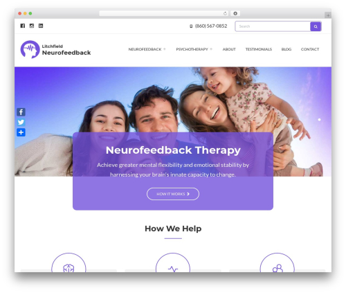 Regina WordPress template - litchfieldneurofeedback.com