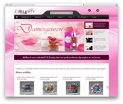 Template WordPress Bellissima - lr-beauty.nl