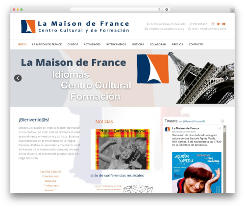 The7.2 WordPress theme - lamaisondefrance.org/nuevo