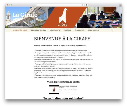 Twenty Thirteen template WordPress free - lagirafebordeaux.fr