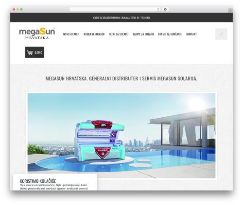 Vantage template WordPress - megasun.hr