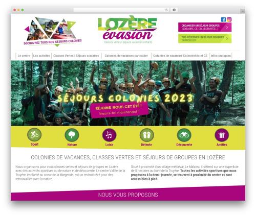 WordPress theme Theme BMS - lozere-evasion.com