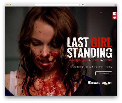 Betheme WordPress theme design - lastgirlstandingmovie.com