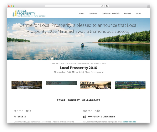 BLDR WordPress theme - localprosperity.ca