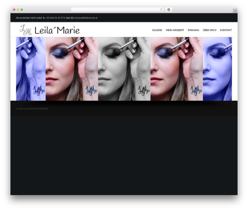 Elite premium WordPress theme - leilamarie.at