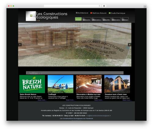 lce template WordPress - lesconstructionsecologiques.fr