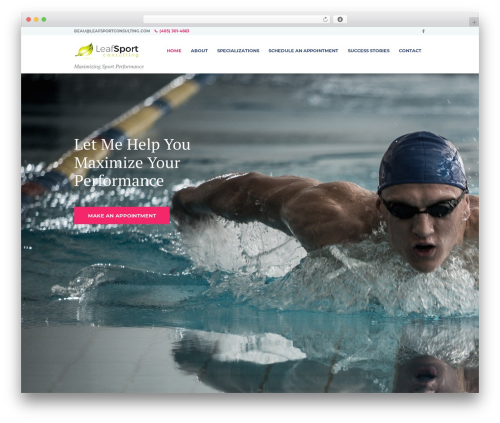 LifeCoach WP theme - leafsportconsulting.com