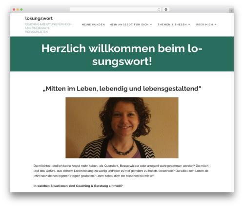 Maisha Lite theme WordPress free - losungswort.com