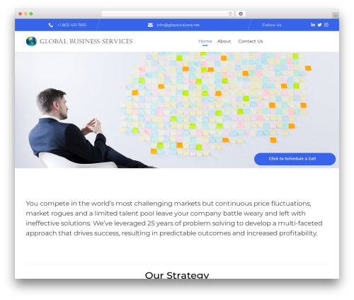 (VamTam) Consulting WordPress template for business - gbssolutions.net
