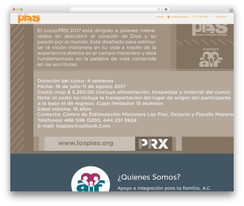 Versatile WordPress theme design - lospies.org