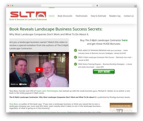 WordPress theme Avada - landscaperbook.com