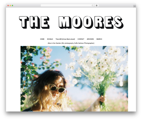 WordPress theme ProPhoto - leahmoore.com.au