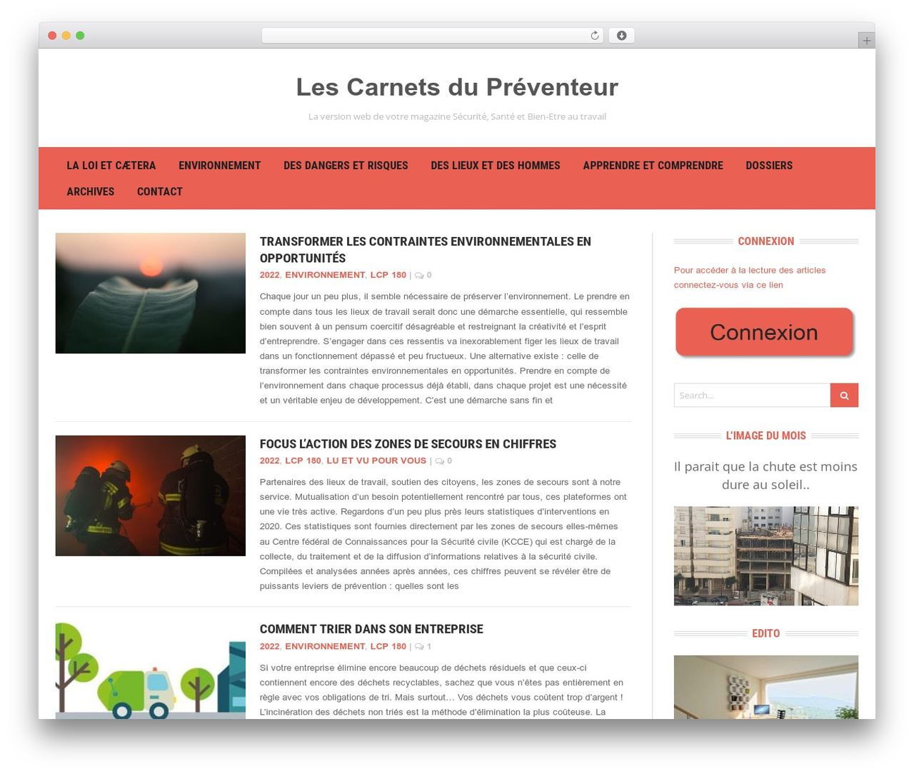 Headline News WordPress template - lescarnets.be/les-carnets